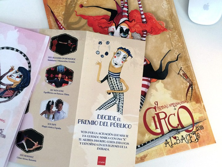 Patrocinio Festival Internacional de Circo de Albacete
