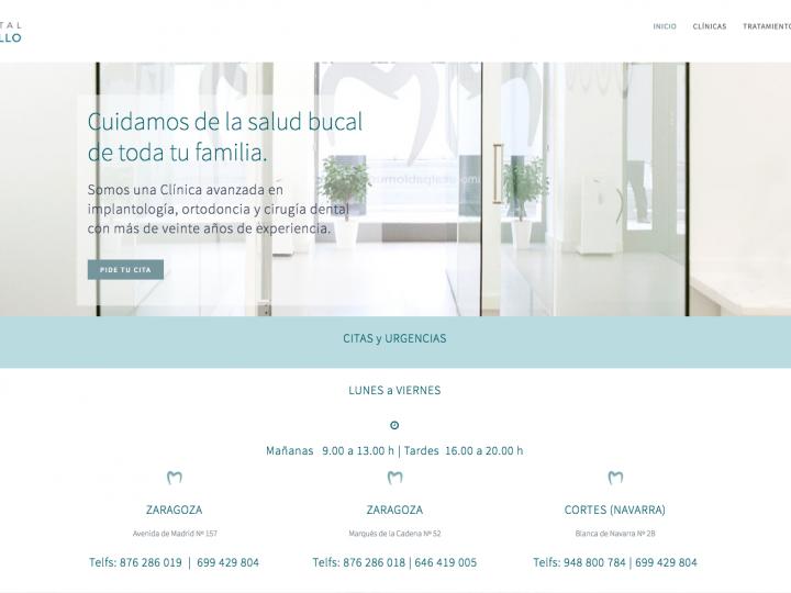 Proyecto de Diseño Web para Clínica Dental Pablo Murillo