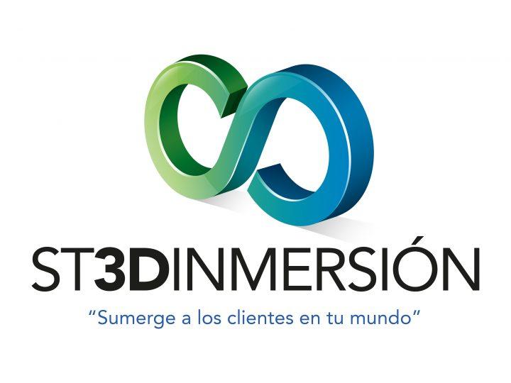 Diseño de logo ST3DInmersión
