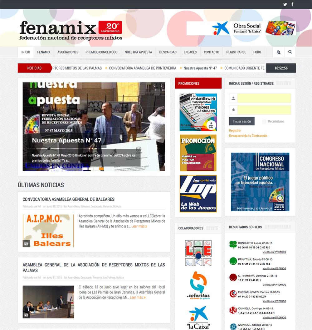 enuno fenamix nuevo portal web