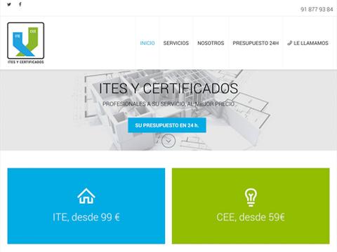 Homepage Ites y Certificados