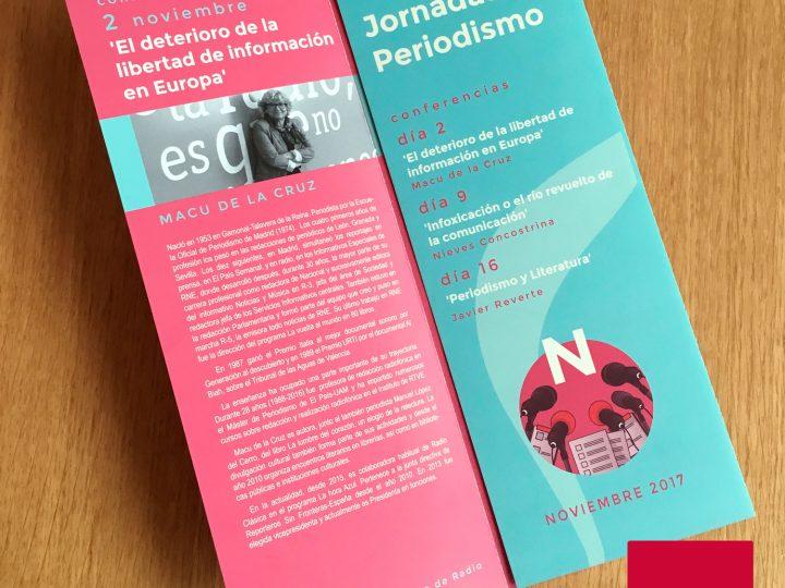 Jornadas de periodismo en Albacete