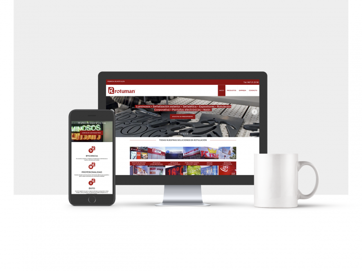 Diseño web para Rotuman